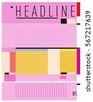vector business brochure design.... | Shutterstock .eps vector #567217639