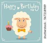Happy Birthday  Funny Sheep...