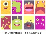 collection of banner ... | Shutterstock .eps vector #567220411