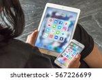 bangkok  thailand   january 29  ... | Shutterstock . vector #567226699