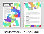 abstract vector layout... | Shutterstock .eps vector #567232801