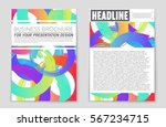 abstract vector layout... | Shutterstock .eps vector #567234715