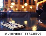 restaurant interior decoration... | Shutterstock . vector #567235909