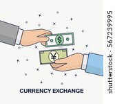 currency exchange. foreign... | Shutterstock .eps vector #567239995