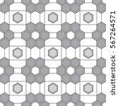 seamless geometric pattern....   Shutterstock .eps vector #567264571