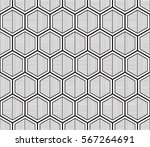 seamless geometric pattern....   Shutterstock .eps vector #567264691
