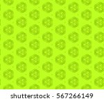 decorative geometric seamless... | Shutterstock .eps vector #567266149