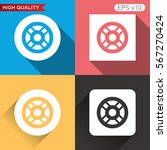 colored icon or button of... | Shutterstock .eps vector #567270424
