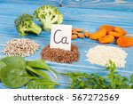 ingredients or products... | Shutterstock . vector #567272569