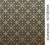 golden metallic background with ... | Shutterstock .eps vector #567280564