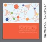 advertising business banner... | Shutterstock .eps vector #567284257