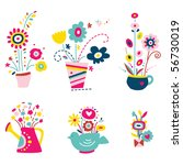 Cute Assortment Of Flowers In...