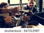 craft beer booze brew alcohol... | Shutterstock . vector #567313987