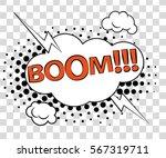 comic speech bubbles with... | Shutterstock .eps vector #567319711