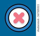 error icon flat design
