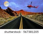 Helicopter Tour Over Desert...