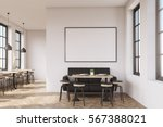 coffee shop interior with a... | Shutterstock . vector #567388021