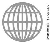 vector illustration of grey... | Shutterstock .eps vector #567389377