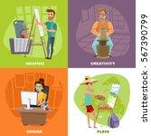 Creative Artist Designer Work...