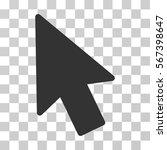 mouse pointer vector pictograph....   Shutterstock .eps vector #567398647