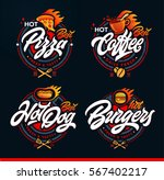 set of labels  logotype and... | Shutterstock .eps vector #567402217