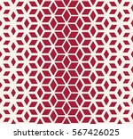 abstract sacred geometry red... | Shutterstock .eps vector #567426025