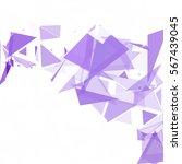 purple break mosaic background  ... | Shutterstock .eps vector #567439045