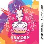vector multicolor illustration... | Shutterstock .eps vector #567448585