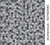 Geometric Abstract Vector Gray...