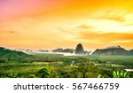landscape viewpoint phang nga... | Shutterstock . vector #567466759