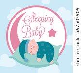 cute baby vector illustration  | Shutterstock .eps vector #567502909