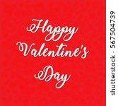 happy valentine's day card   Shutterstock .eps vector #567504739