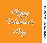 happy valentine's day card   Shutterstock .eps vector #567504781