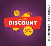 special discount advertisement... | Shutterstock . vector #567508027