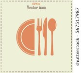 vector illustration sign with... | Shutterstock .eps vector #567517987
