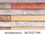 antique wooden wall texture in... | Shutterstock . vector #567527749