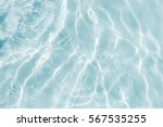 surface of blue swimming pool... | Shutterstock . vector #567535255