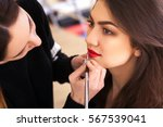 Make Up Artist Doing Make Up...