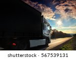 truck on the road | Shutterstock . vector #567539131