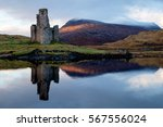 Close Up Of Ardvreck Castle...