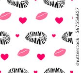 seamless colorful pattern with... | Shutterstock .eps vector #567556627