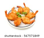 Stack Butterfly Shrimp In Plat...