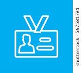 badge icon illustration... | Shutterstock .eps vector #567581761
