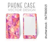 case for mobile phone with... | Shutterstock .eps vector #567583015