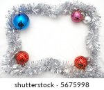 christmas ornament   frame | Shutterstock . vector #5675998