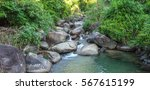river runs through cascading...   Shutterstock . vector #567615199