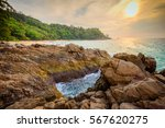 landscape from phuket view... | Shutterstock . vector #567620275