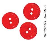 three red buttons macro closeup ... | Shutterstock . vector #56762221