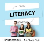 learning knowledge education...   Shutterstock . vector #567628711