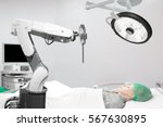 medical robot operation... | Shutterstock . vector #567630895